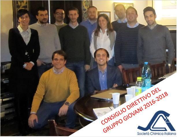 Direttivo Gruppo Giovani SCI 2016-2018