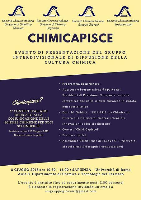 Locandina Chimicapisce 2018